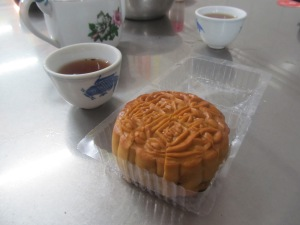 Yummy moon cake in Malaysia - which we wouldn't have tried if it wasn't for a friendly local lady
