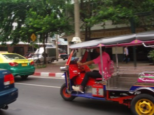 Taxis and tuk tuks, Bangkok