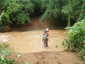 Trekking, northern Laos
