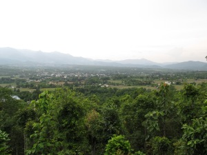 Pai encased by moutains