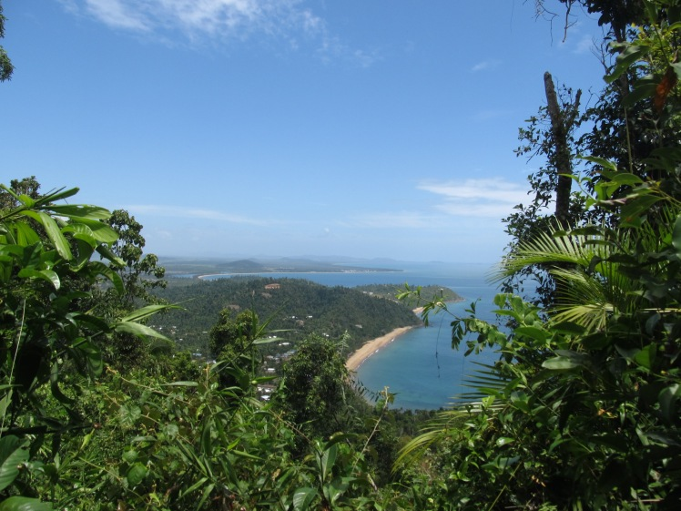 Rainforest meets the sea, Mission Beach