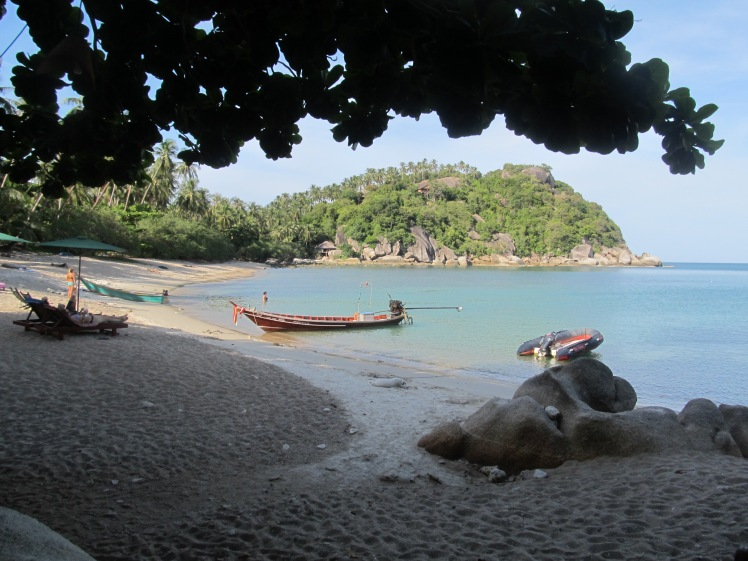Peaceful Haad Thian, a world away from the full moon, Koh Phangan.