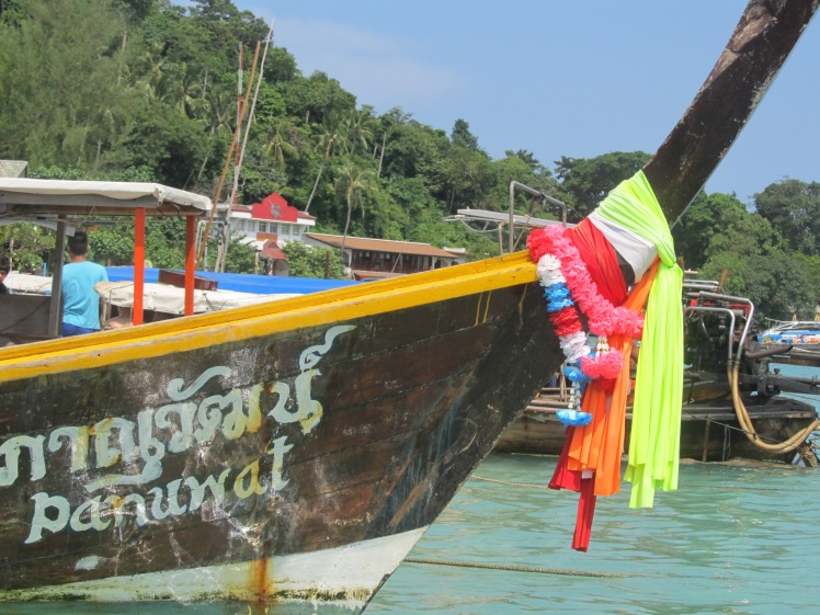 Longtail boat, Koh Phi Phi