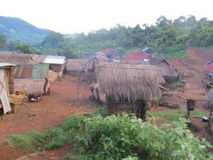 Hmong and Kamu village.
