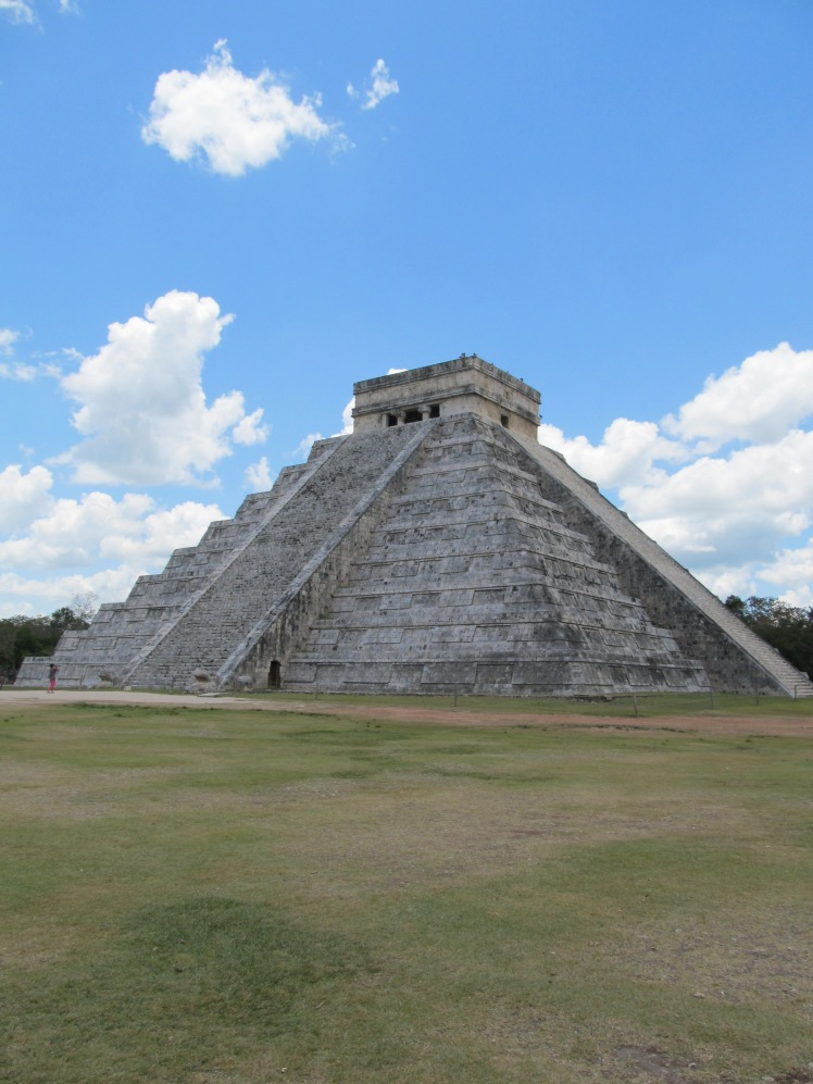 Something I've already ticked off - visiting Chichen Itza, Mexico