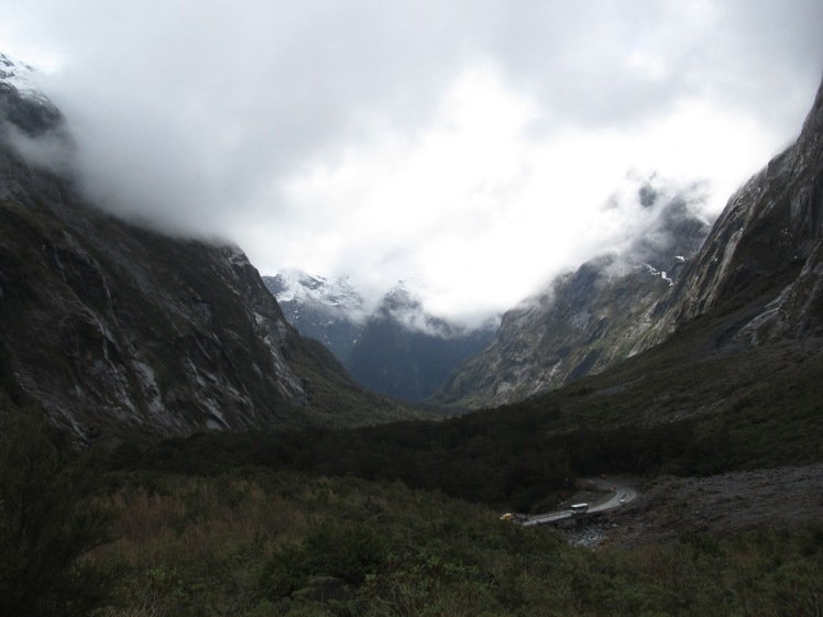 Glaciated landscape around Milford Sound.Glaciated landscape around Milford Sound.