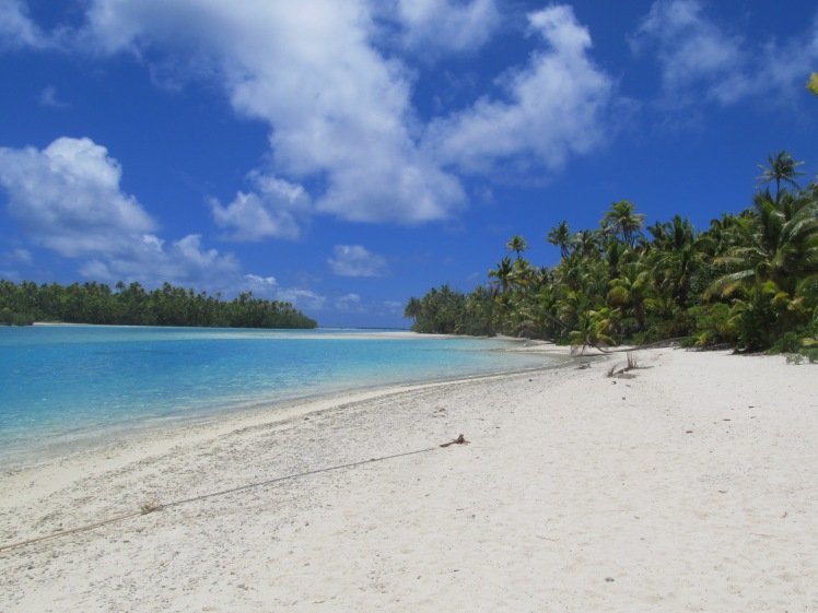 One Foot Island, Aitutaki lagoon.