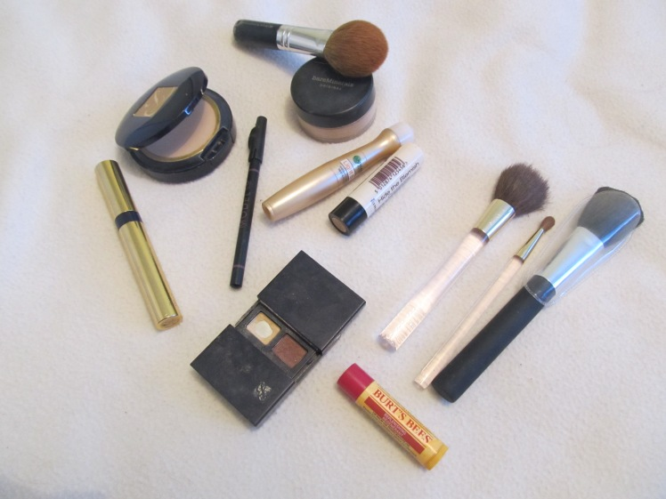 What's in my make-up bag.