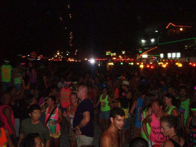 Full Moon Party, Haad Rin.