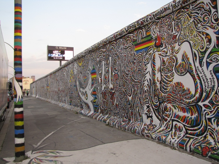 East Side Gallery via Ben @ Flickr