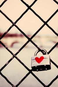 Parisian Love Lock via Allen Skyy @ Flickr