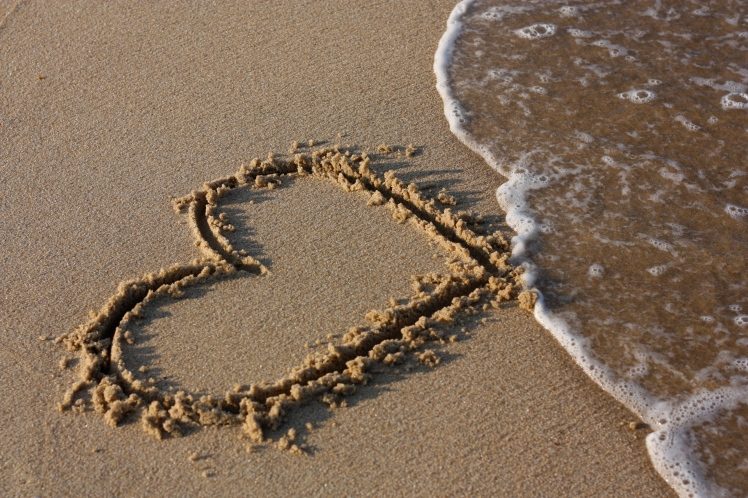 Love swept away by the waves via leasqueaky @ Flickr