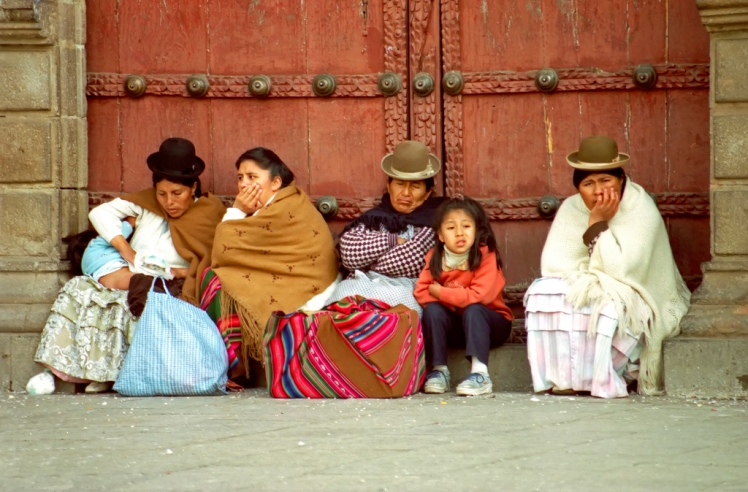 Locals in Bolivia via archer10 @ Flickr