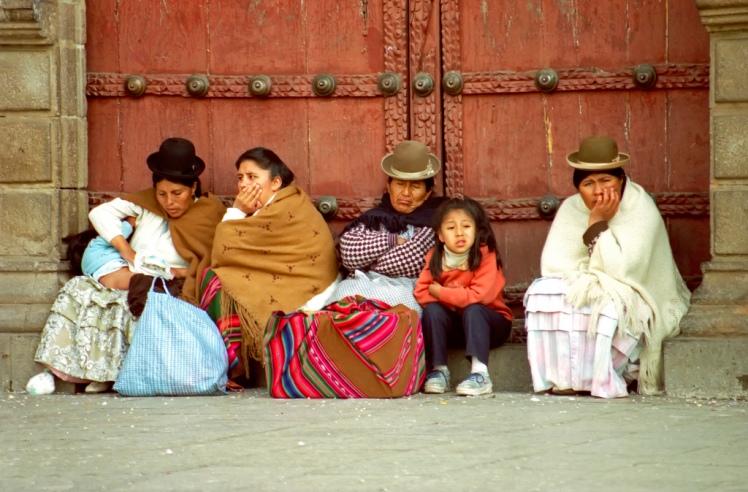 Locals in Bolivia via archer10 @ Flickr