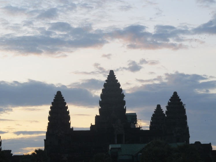 Angkor Wat, Cambodia's most famous temple.