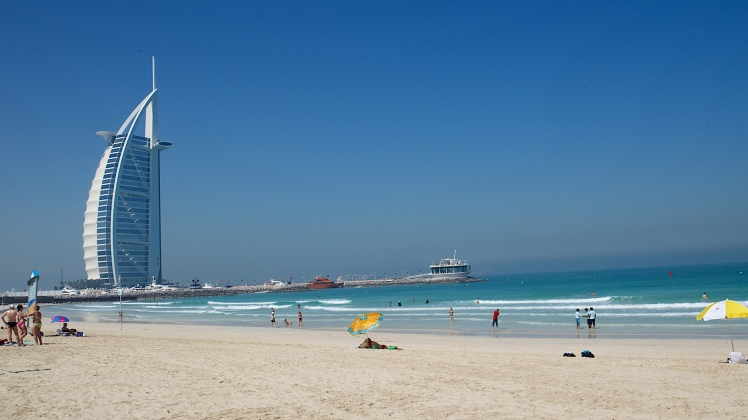 Jumeirah Beach, Dubai via Jane Drumsara @ Flickr