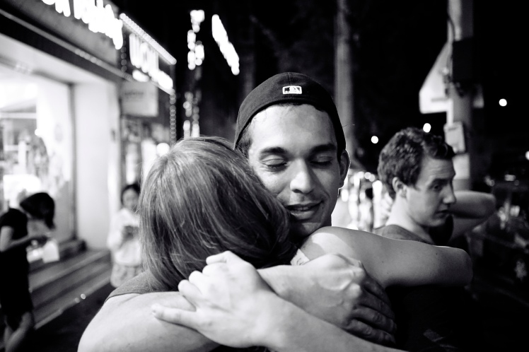 I'm always missing hugging my loved ones back home. Via Aaron Guy Lerous @ Flickr