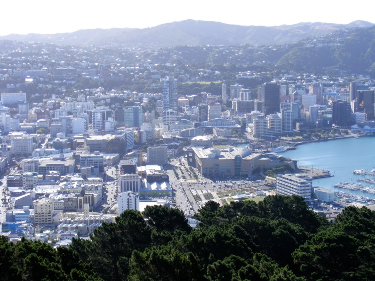Wellington, NZ. Not a bad place to live. Via Paul Capewell @ Flickr