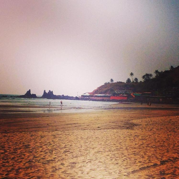 Arambol beach, Goa.