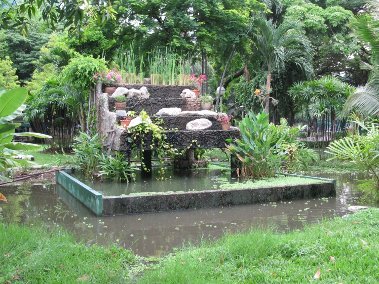 Green tranquility in Lumphini Park