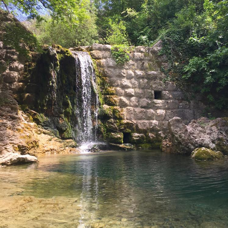 Secret waterfall near Stari Bar